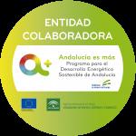 Sello entidad colaboradora Andalucía es más
