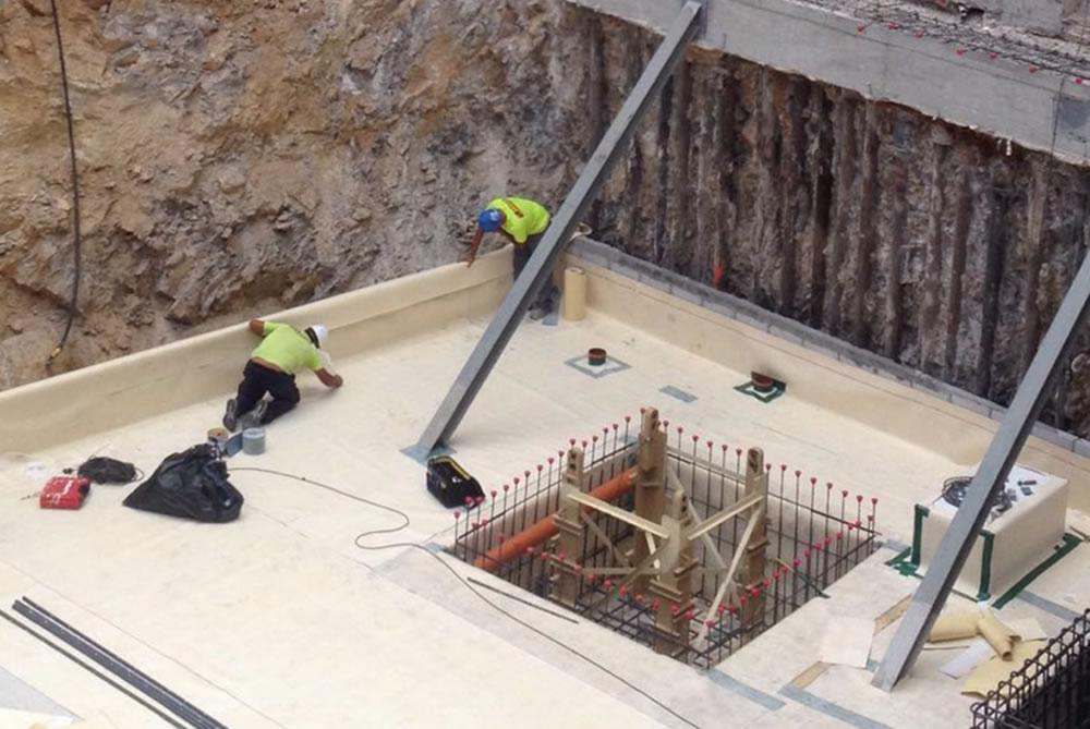 Soeco impermeabilización police Gibraltar
