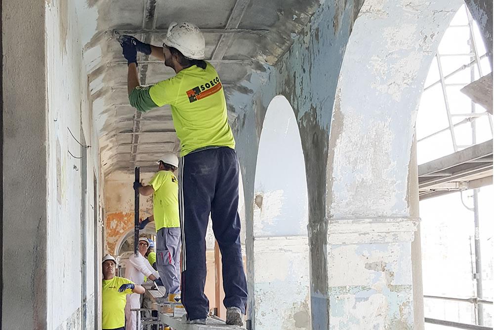 Soeco refuerzo estructural police Gibraltar