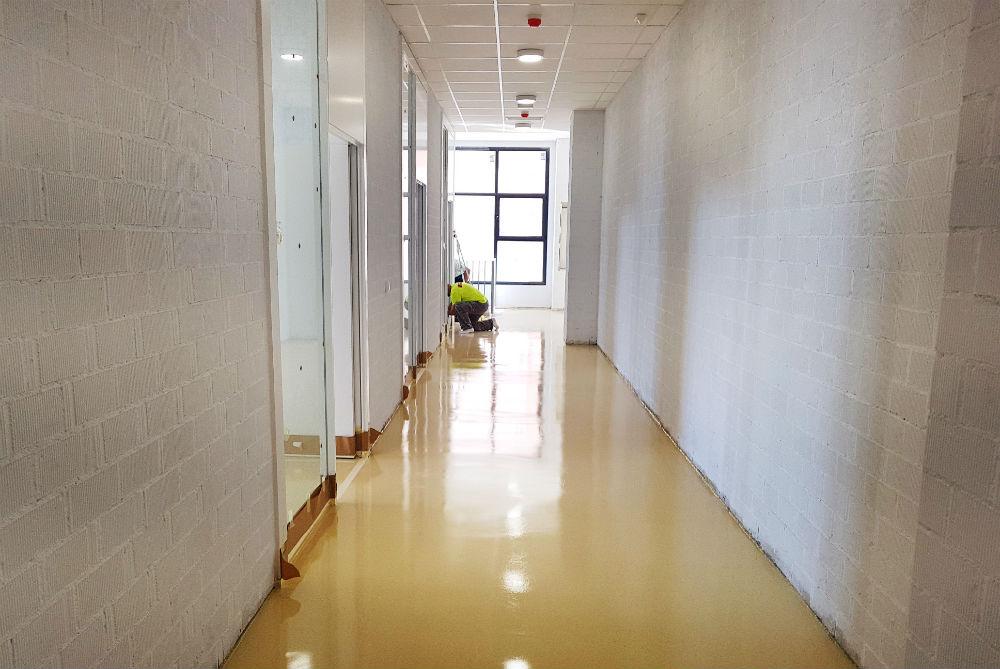 Soeco pavimento Universidad Ceuta